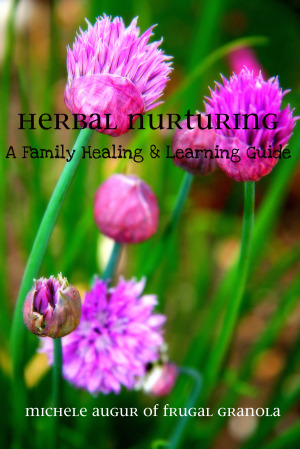 REVIEW and GIVEAWAY: Herbal Nurturing, a family healing and learning guide